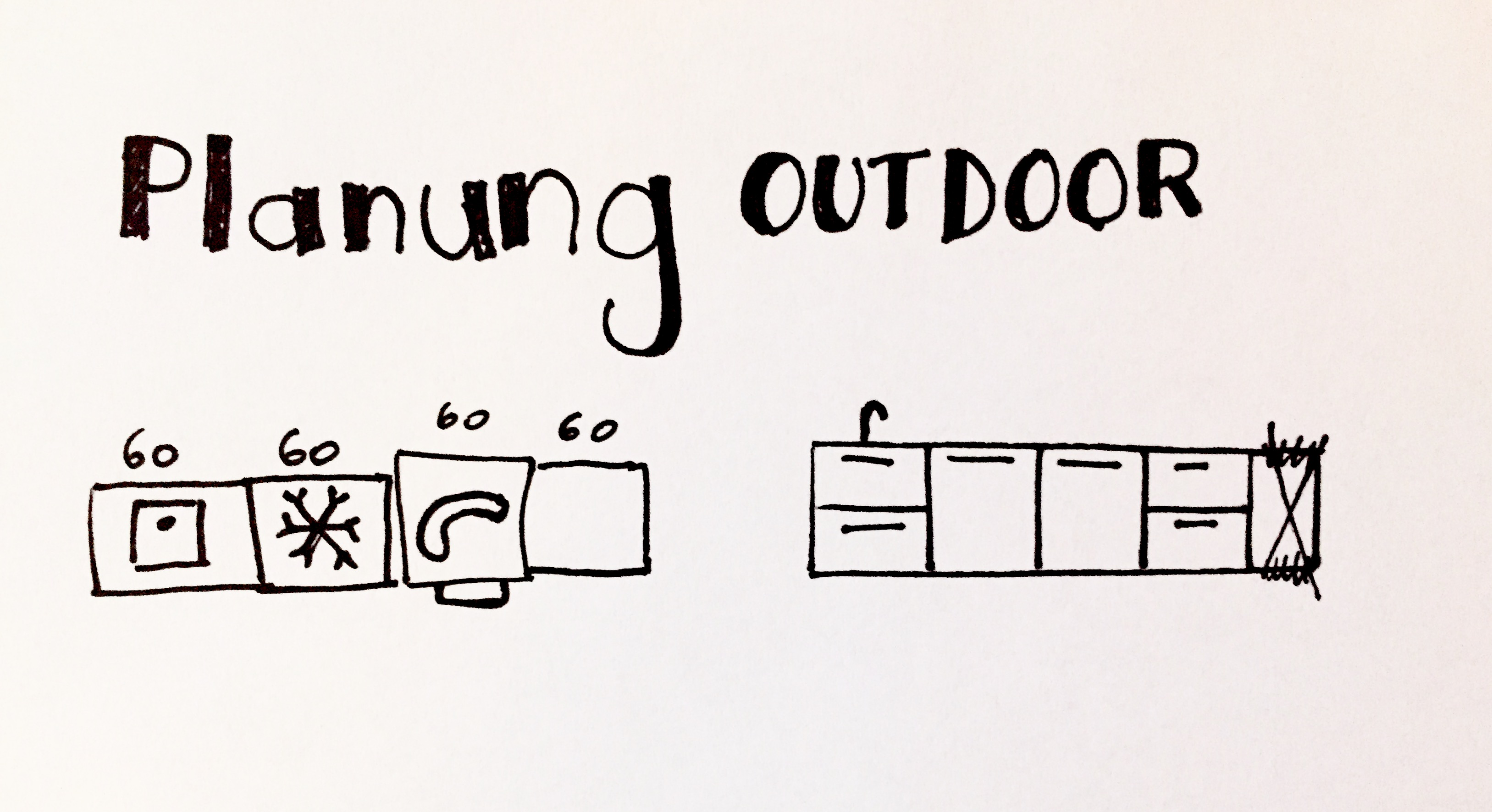 DIY Outdoorküche - Ikea Hack - Rut Morawetz