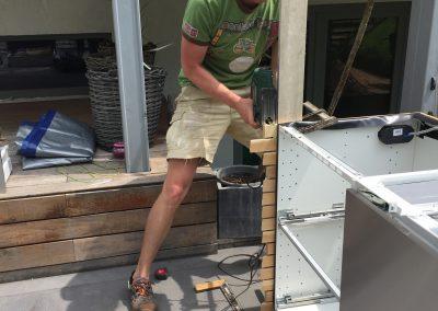 Outdoorküche Zusammenbauen Arbeitsschritte