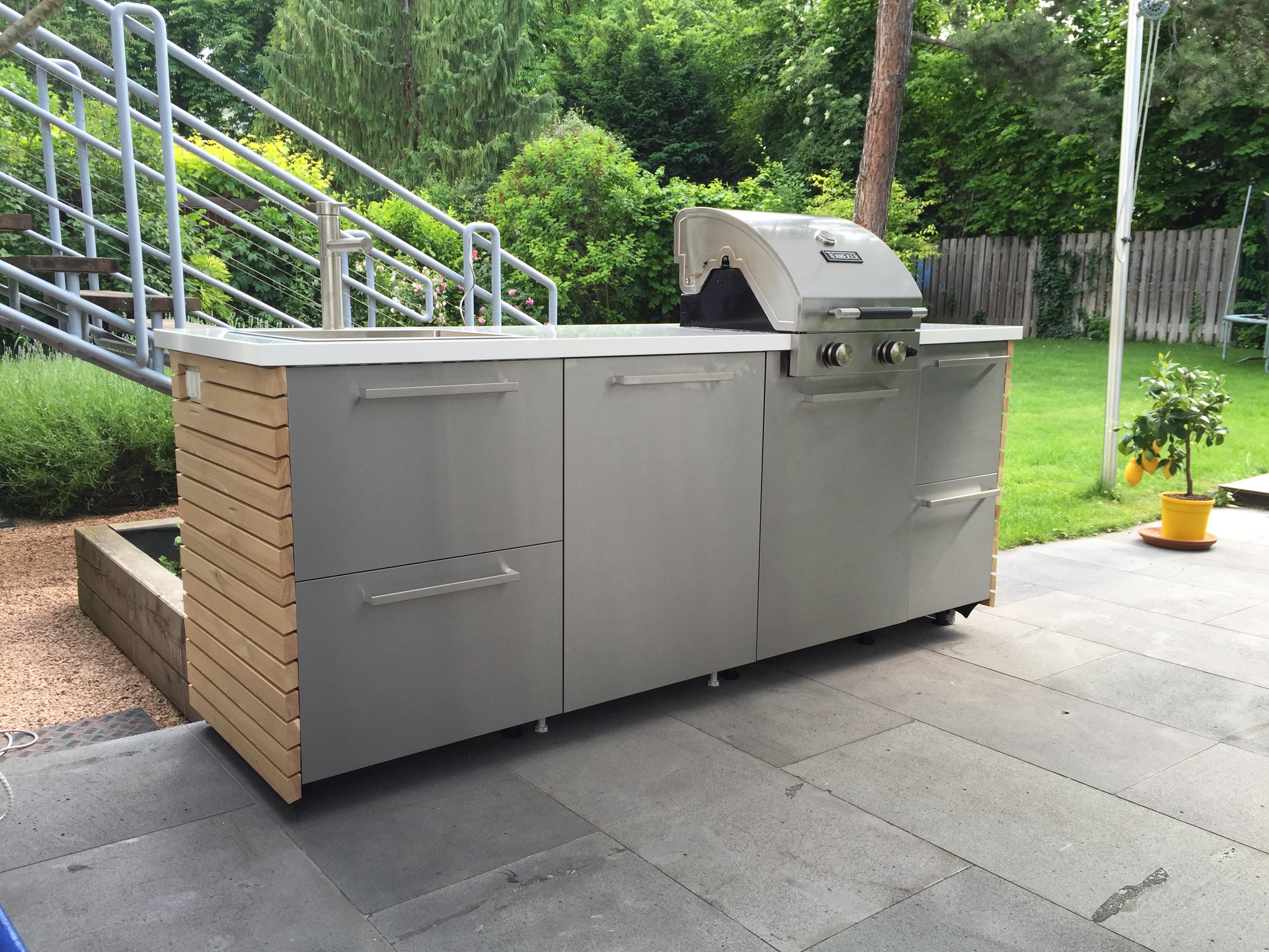 DIY Outdoorküche – Ikea Hack  Rut Morawetz