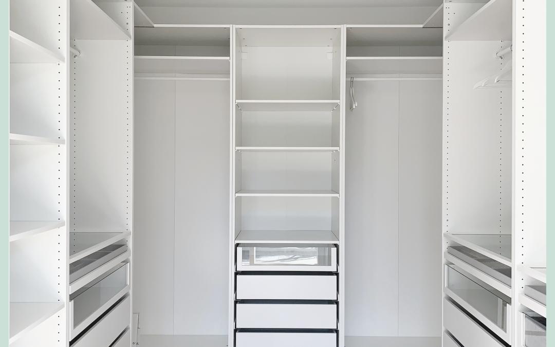 Schrankraum mit IKEA Pax